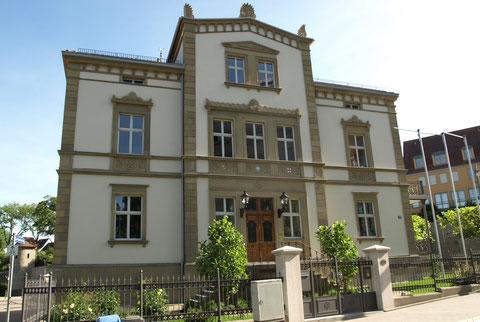 """Die alte """"Bach-Villa"""" in neuem Glanze"""