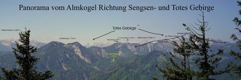 Sengsengebirge vom Almkogel bei Großraming aus