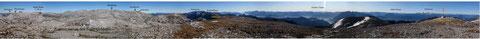 Zentralplateau des Toten Gebirges vom Gr. Tragl aus