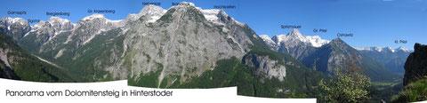 Totes Gebirge vom Dolomitensteig bei Hinterstoder
