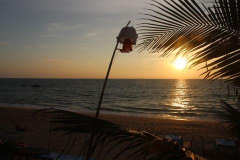 Soleil couchant sur Ko Lanta
