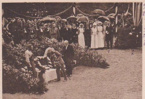 Grundsteinlegung 1916- Archiv W.Malek