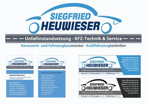 Logoentwicklung Heuwieser
