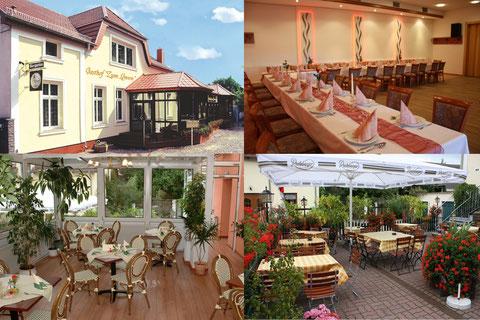 Unser restaurant zum l wen gasthof pension zum l wen in l wenbruch - Wintergarten ffb ...