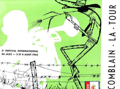 Couverture du programme 1963