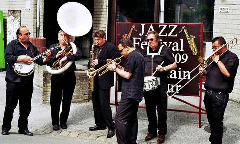 Orchestre Dixieland (Café Liégeois)