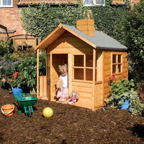 Домик деревянный игровой детский