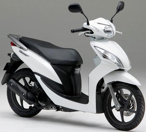 ディオ110(市販予定車)