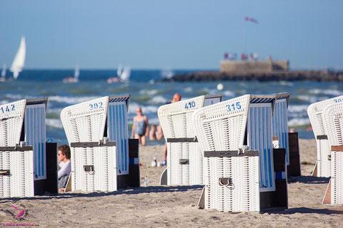 Strandkörbe in Warnemünde Rostock