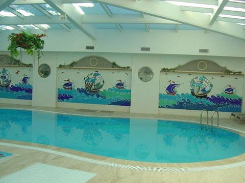 mural  piscina