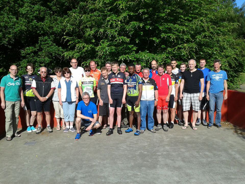 Ein gemeinsames Wochenende verbrachten erstmals die Trekking-, Rennrad- und MTB-Fahrer in der Jugendherberge in Damme.