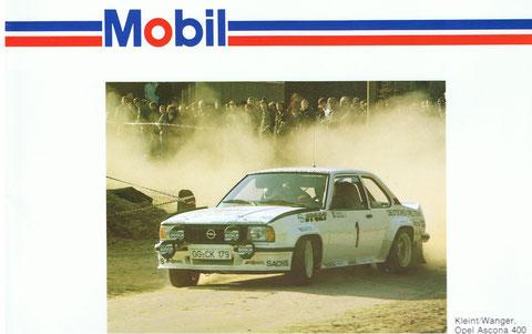 Unser erfolgreichster AMC-Motorsportler: Gunter Wanger - Europa-Rallyemeister 1979 mit Jochi Kleint und Deutscher Automobil-Rallyemeister 1983 mit Erwin Weber.