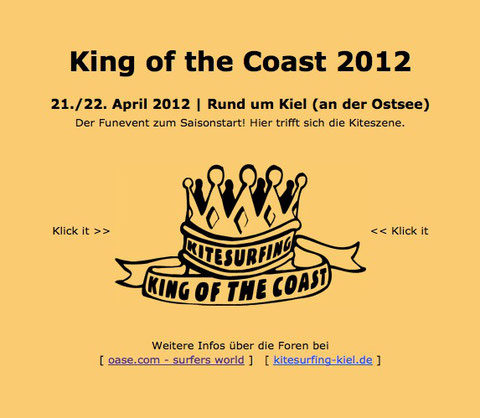 King of the Coast 2012