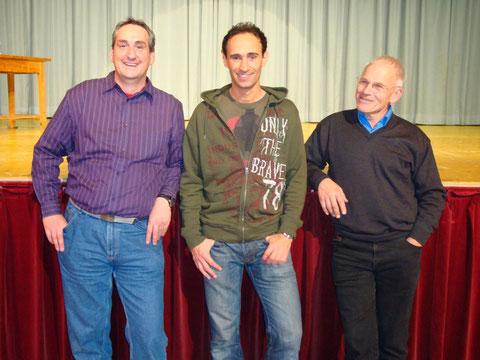 Kulturreferent Ewald Ammerer, Comedian Gernot Kulis,Bürgermeister Fritz Loidl
