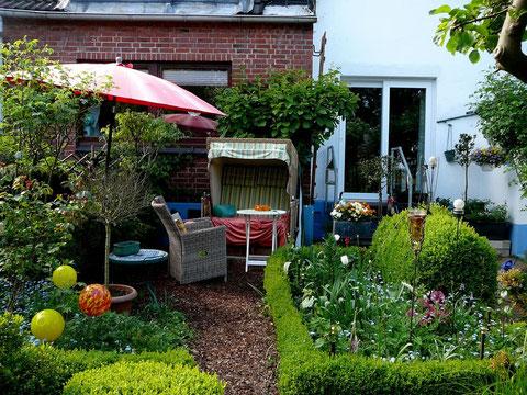 Neues Kräuter- Garten-Zimmer, vorher