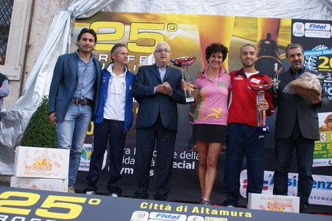 nella foto i vincitori del Trofeo Auxilium