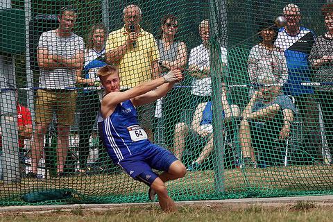 Gerrit Vißer setzte sich gegen die Konkurrenz aus Leverkusen durch und steigerte seine persönliche Bestweite um gut 90 cm. (Archivfoto)