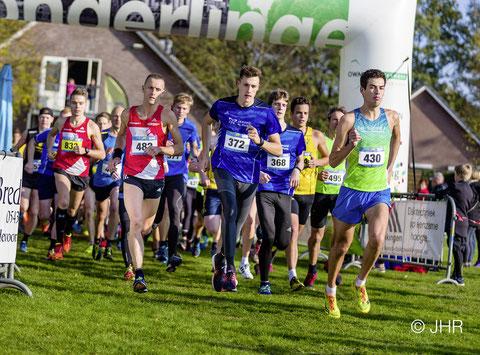 Jan-David Ridder steigerte sich im zweiten 5-km-Lauf auf starke 17:32 Minuten. (Foto: Jan-Hendrik Ridder)