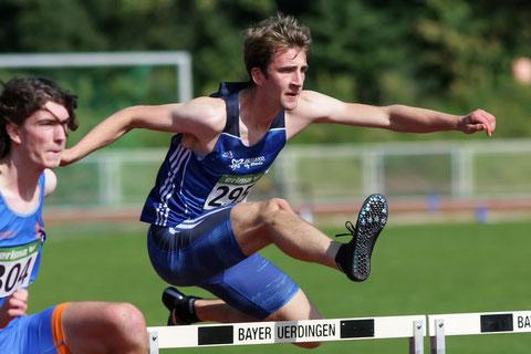 Fabian Baten lief die 110-m-Hürden in 16,51 Sekunden. (Archivfoto)