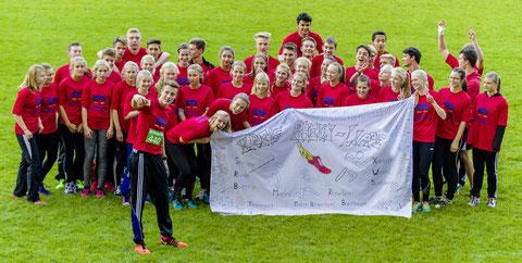 Die Auswahl des Kreises Rhein-Lippe hatte bei den Teamendkämpfen 2015 allen Grund zu jubeln.