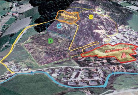 Übersicht Areal Stolberg-Zink