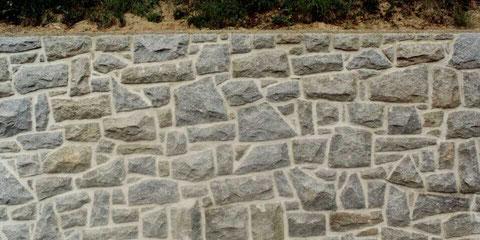 unregelmäßige Mauersteine