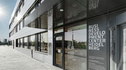 BDC Heidelberg - Eingangsbereich