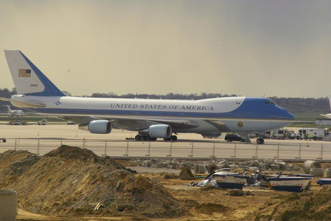 Boeing VC-25A (Air Force One) © Andreas Unterberg