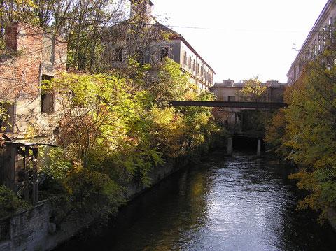 Papierfabrik Klein Neusiedel.