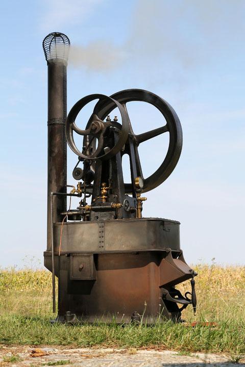 Hofmeister Dampfmaschine fertig Restauriert.