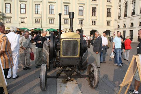 Erntedankfest Heldenplatz Wien.