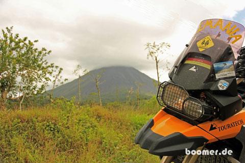 Costa Rica - das sind Vulkane