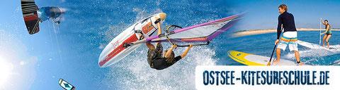 Ostsee - Kitesurfschule - Banner