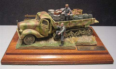 Ford 3000 Maultier Www Panzer Bau De Diorama Milit 228 R 1 35