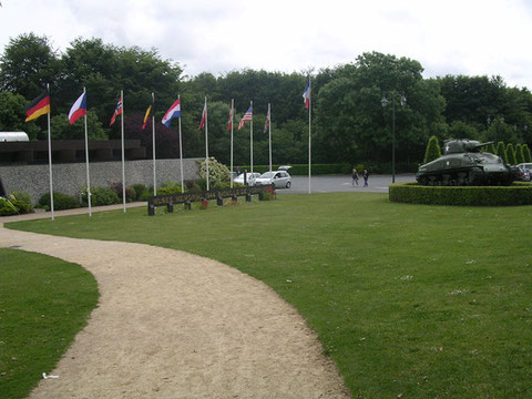 Das Invasionsmuseum in Bayeux.