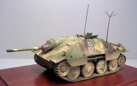 Jagdpanzer 38 der BMM-fertigung von Juli1944, hier als Befehlspanzer ausgerüstet.