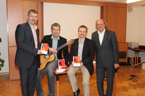 Liebe in Zeiten der Prostata: Buchpräsentation in der Raiba Amstetten März 2012