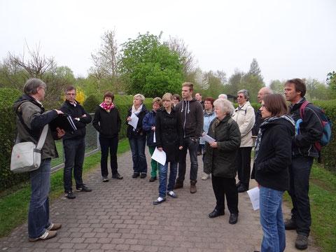 Vogelstimmenwanderung 5.Mai 2013                Foto: M. Bender