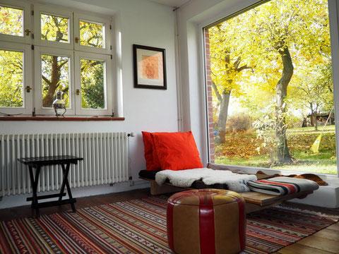 Living Room Blick in die Ferne