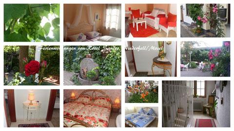 Diese Bilder zeigen einen Ausschnitt  meiner Ferienwohnungen -  bitte 1 x anklicken, um sie  zu vergrößern!