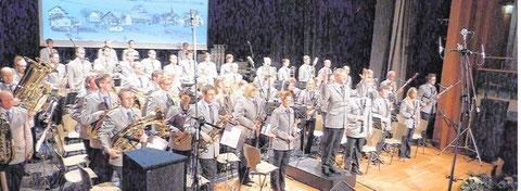 Auf höchstem Niveau präsentierte sich einmal mehr das Große Blasorchester des Musikvereins Frenkhausen auf seinem traditionellen Frühjahrskonzert.