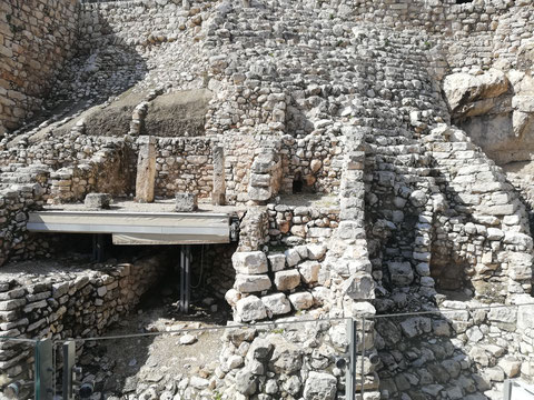 "The ""House of Ahiel"" and the Stone Stepped Structure"