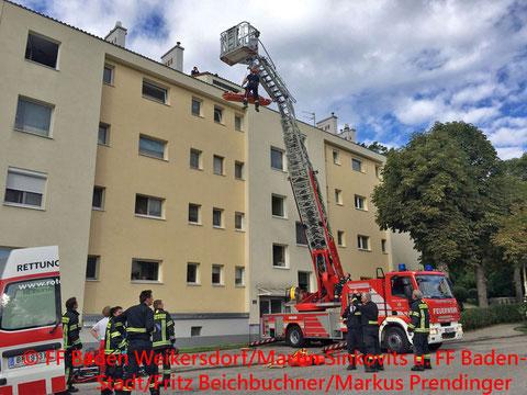 © FF Baden Weikersdorf/Martin Sinkovits u. FF Baden-Stadt/Fritz Beichbuchner/Markus Prendinger