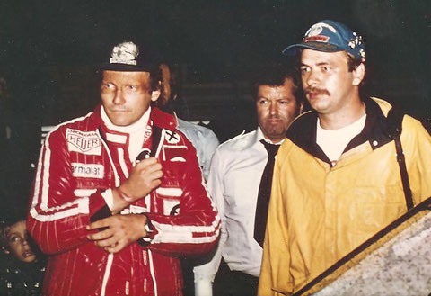 Niki Lauda treff George