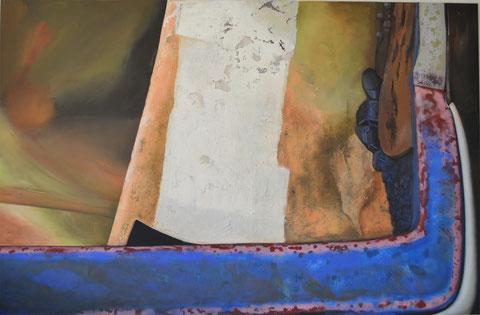 Andrea Ridder: Boat 2, 2011, 150 x 230 cm
