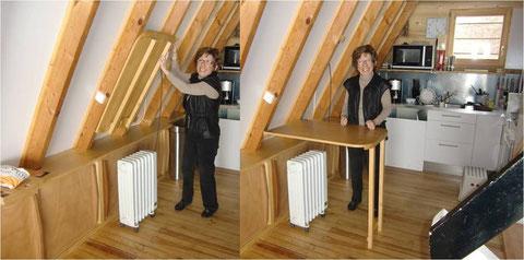 Escalier escamotable lapeyre for Bar escamotable