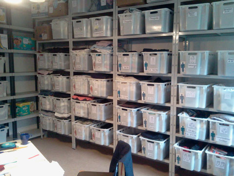 Neue Kleiderkammer ab 2014 im Pfarrhaus St. Joseph