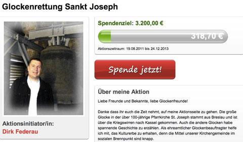 Stumm wirds im Turm. Die Glockenanlage ist marode und das Geld ist knappe! Wir brauchen Hilfe und Unterstützung!