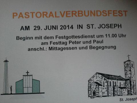 29. Juni 2014: Sommerfest des Pastoralverbunds Kassel-Mitte