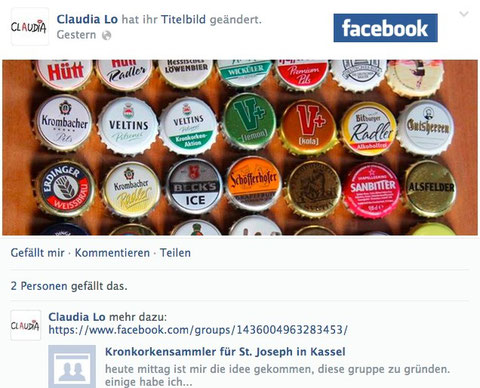 Fangruppe in Facebook ab 2014
